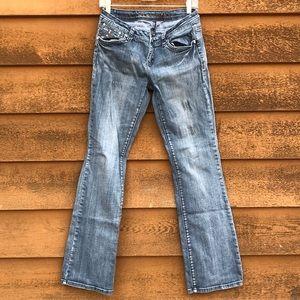 LA Idol Winged Cross Jeans